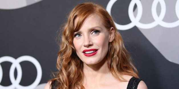 Jessica Chastain arrives at Audi Kicks Off Golden Globes Week 2015 at Cecconi's on Thursday, Jan 8, 2015 in West Hollywood, C