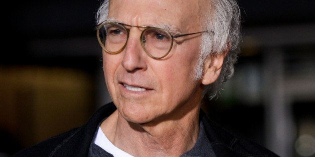 """Larry David arrives at the LA Premiere Of """"Dumb And Dumber To"""" on Monday, Nov 03, 2014, in Los Angeles. (Photo by Richard Sho"""