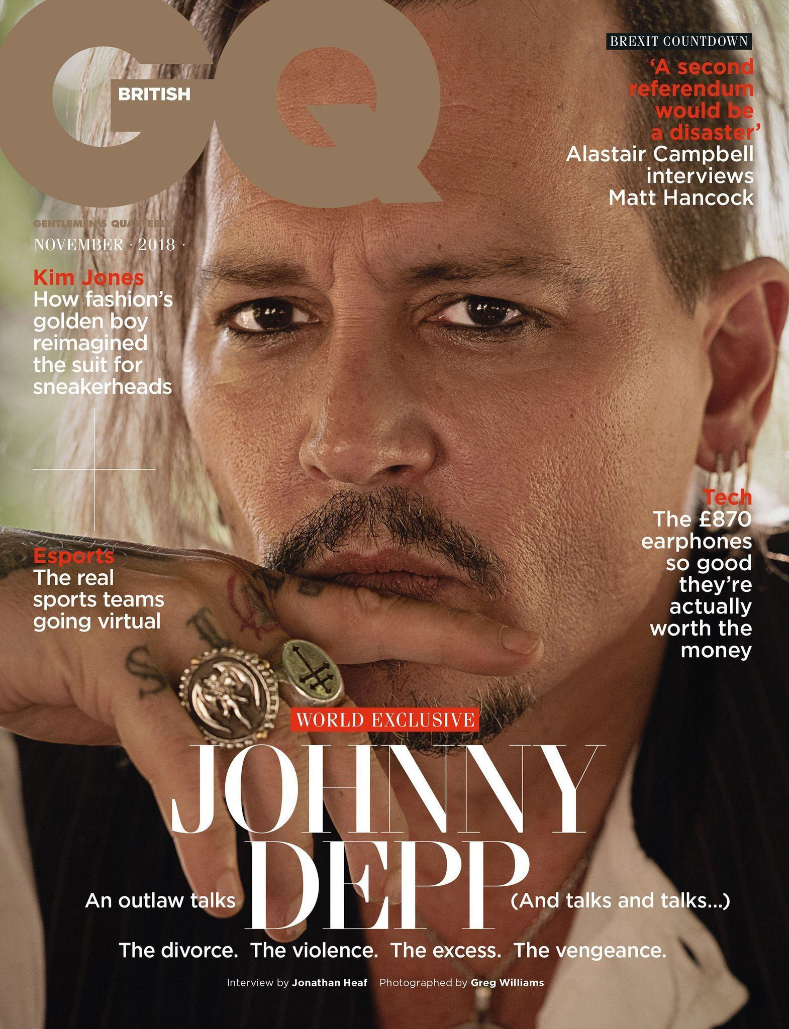 Johnny Depp's 'Outlaw' GQ Cover And Interview Comes Under