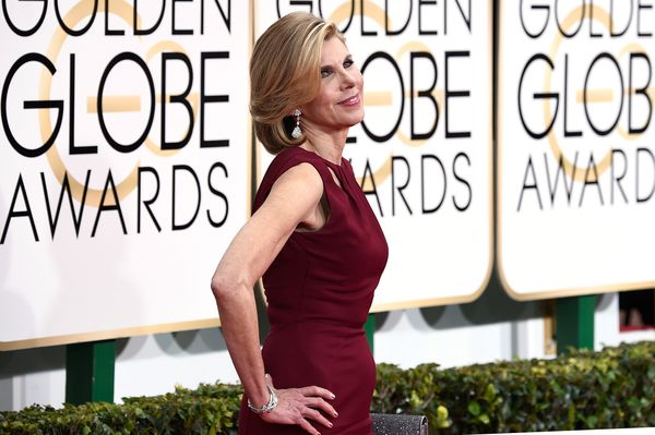 BEVERLY HILLS, CA - JANUARY 11:  Actress Christine Baranski attends the 72nd Annual Golden Globe Awards at The Beverly Hilton