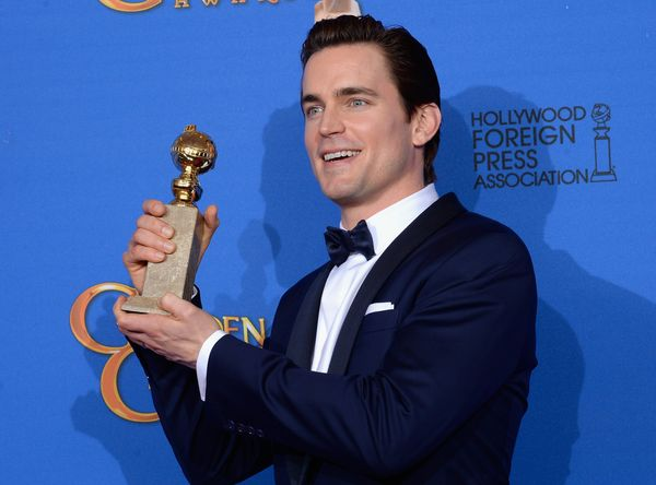 BEVERLY HILLS, CA - JANUARY 11:  72nd ANNUAL GOLDEN GLOBE AWARDS -- Pictured: Actor Matt Bomer, winner of the Best Supporting