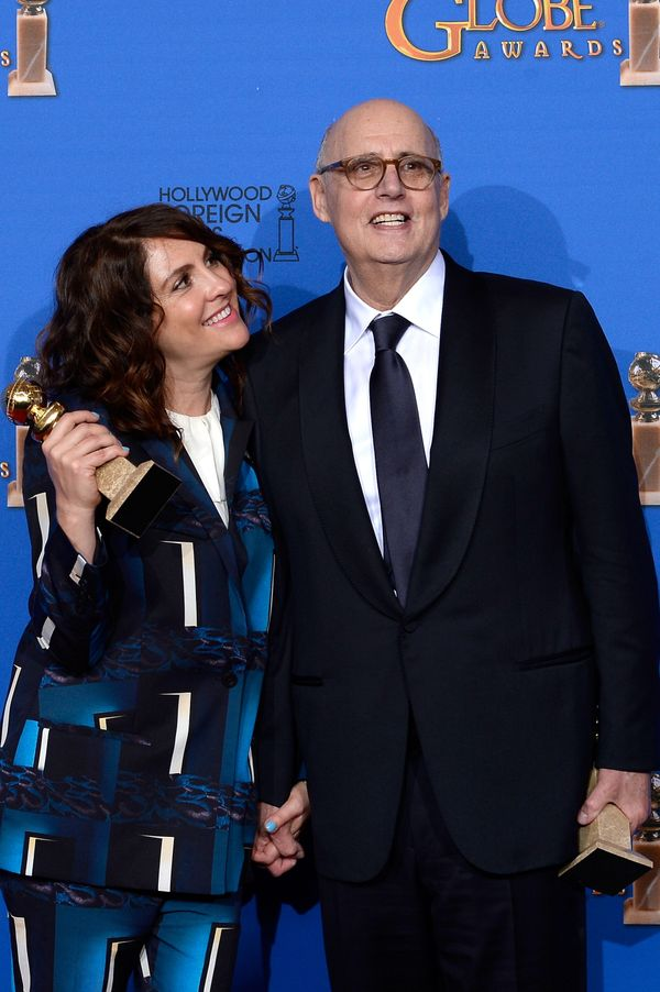 BEVERLY HILLS, CA - JANUARY 11:  72nd ANNUAL GOLDEN GLOBE AWARDS -- Pictured: Writer/producer Jill Soloway, winner of Best TV