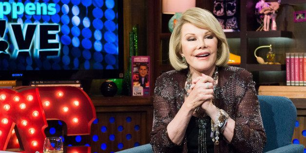 WATCH WHAT HAPPENS LIVE -- Pictured: Joan Rivers -- (Photo by: Charles Sykes/Bravo/NBCU Photo Bank via Getty Images)