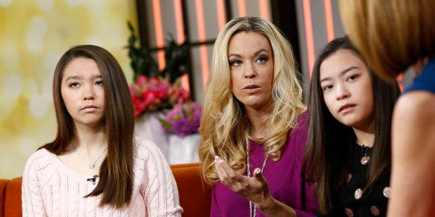 TODAY -- Pictured: (l-r) Cara Gosselin, Kate Gosselin and Mady Gosselin appear on NBC News' 'Today' show -- (Photo by: Peter