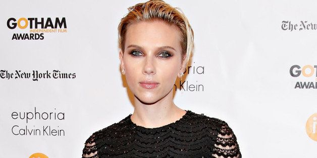 NEW YORK, NY - DECEMBER 01:  Actress Scarlett Johansson attends the 24th Annual Gotham Independent Film Awards at Cipriani Wa