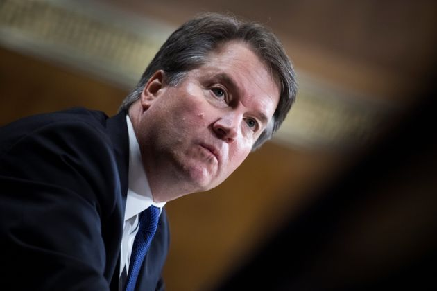 Judge Brett Kavanaugh testifies during a Senate Judiciary Committee hearing on Sept.