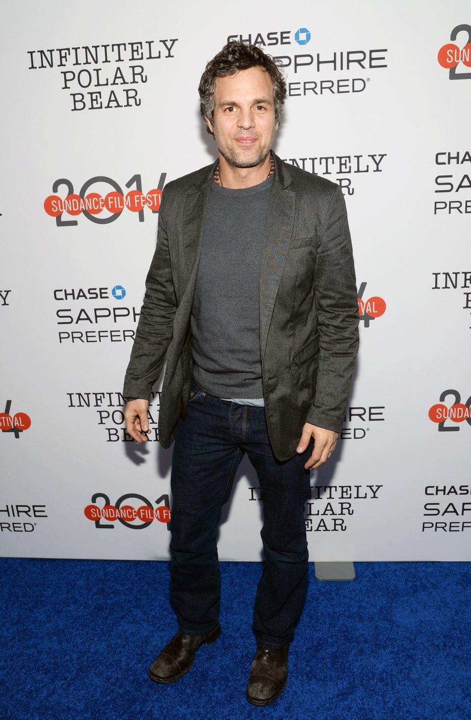 "IMAGE DISTRIBUTED FOR CHASE SAPPHIRE PREFFERED - Actor Mark Ruffalo attends the ""Infinitely Polar Bear"" premiere party hosted"