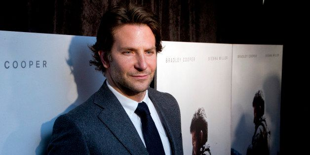 "Actor Bradley Cooper arrive at the Washington premiere of the movie ""American Sniper"" at Burke Theatre at the U.S. Navy M"