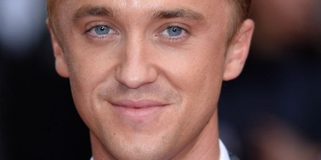 LONDON, ENGLAND - JUNE 05:  Tom Felton attends the UK Premiere of 'Belle' at BFI Southbank on June 5, 2014 in London, England