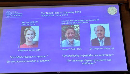 Le Nobel de chimie à deux Américains et un Britannique pour leurs travaux sur
