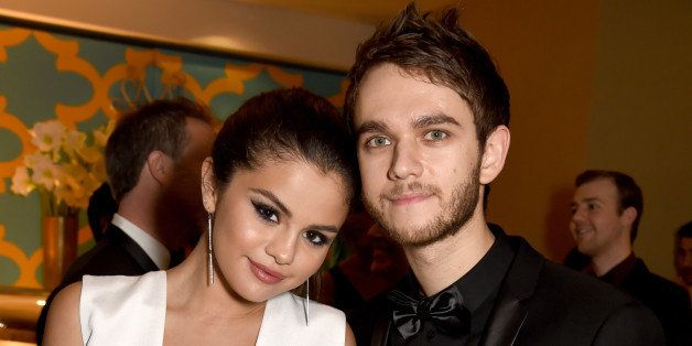 BEVERLY HILLS, CA - JANUARY 11:  Singer/Actress Selena Gomez (L) and musician Zedd attend HBO's Official Golden Globe Awards
