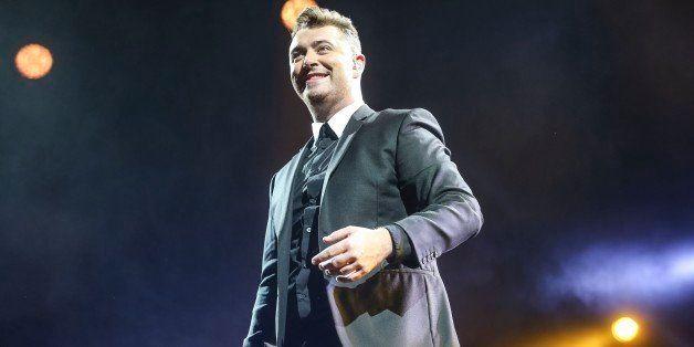 TORONTO, ON - JANUARY 20: Singer Sam Smith performing  live   at the Air Canada Centre.        (David Cooper/Toronto Star via