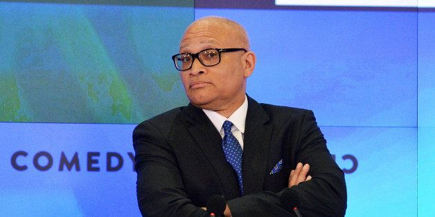 NEW YORK, NY - JANUARY 23:  Television personality Larry Wilmore attends Viacom Inc. & Comedy Central's 'The Nightly Show wit