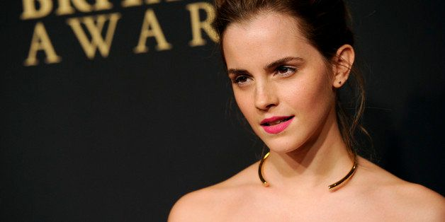 Emma Watson arrives at the BAFTA Los Angeles Britannia Awards at the Beverly Hilton Hotel on Thursday, Oct. 30, 2014, in Beve