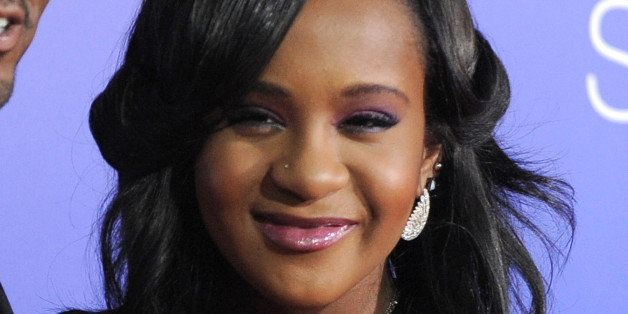 "FILE - In this Aug. 16, 2012, file photo, Bobbi Kristina Brown attends the Los Angeles premiere of ""Sparkle"" at Grauman's Chi"