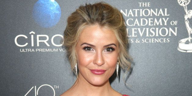 Linsey Godfrey seen at The 40th Annual Daytime Emmy Awards Redtouch Red Carpet, on Sunday, June, 16, 2013 in Beverly Hills. (