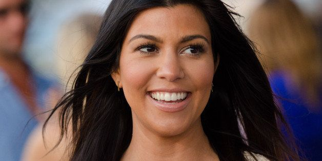 """Kourtney Kardashian attends the """"Party Under The Stars"""" benefit hosted by Women's Health and Feed at the Bridgehampton Tennis"""