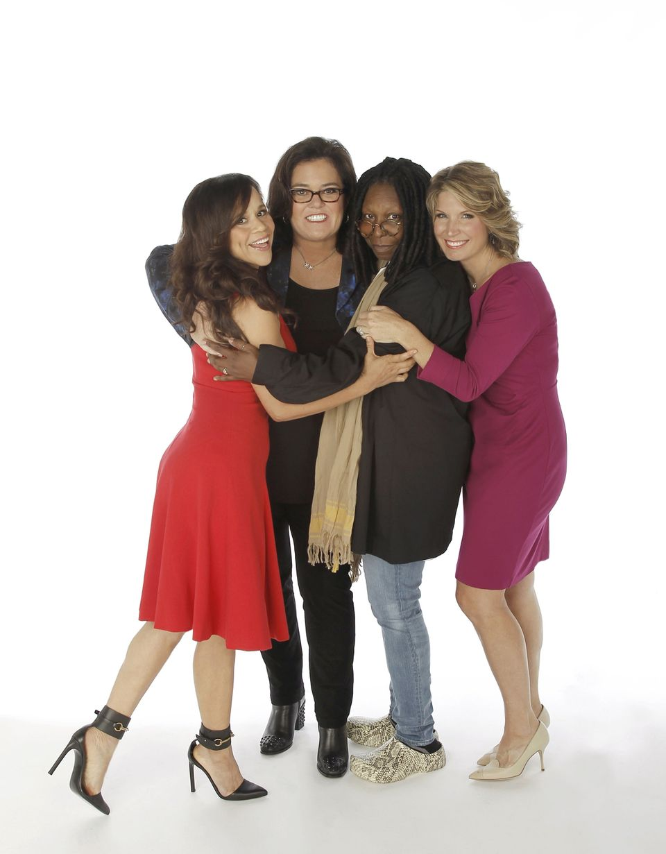 THE VIEW - The panel is now complete. Rosie Perez and Nicolle Wallace are the new co-hosts of 'The View' joining moderator Wh