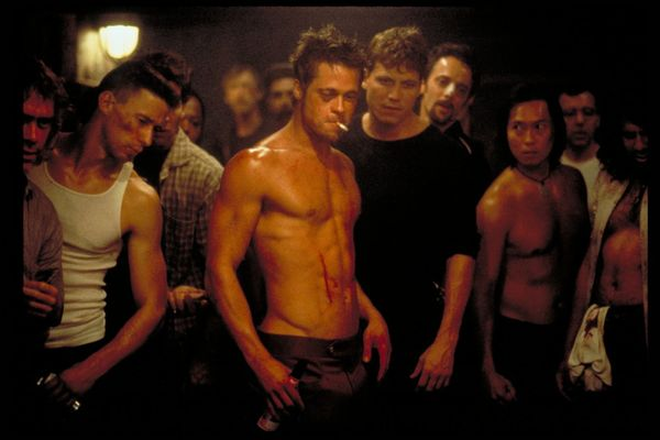 """""""Fight Club"""" has fermented into something of a macho wet dream, but a significant faction of critics and moviegoers was disda"""
