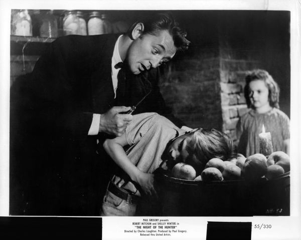 People really hated this movie when it opened, but now you'll find it on best-of lists of all shades. Starring Robert Mitchum