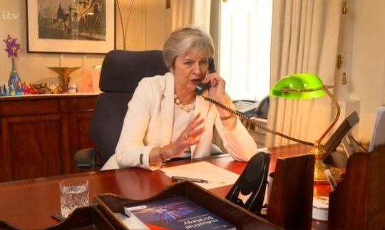 Theresa May Finds Time To Debut Her Acting 'Skills' For This Morning's 30th Birthday (Get Ready To