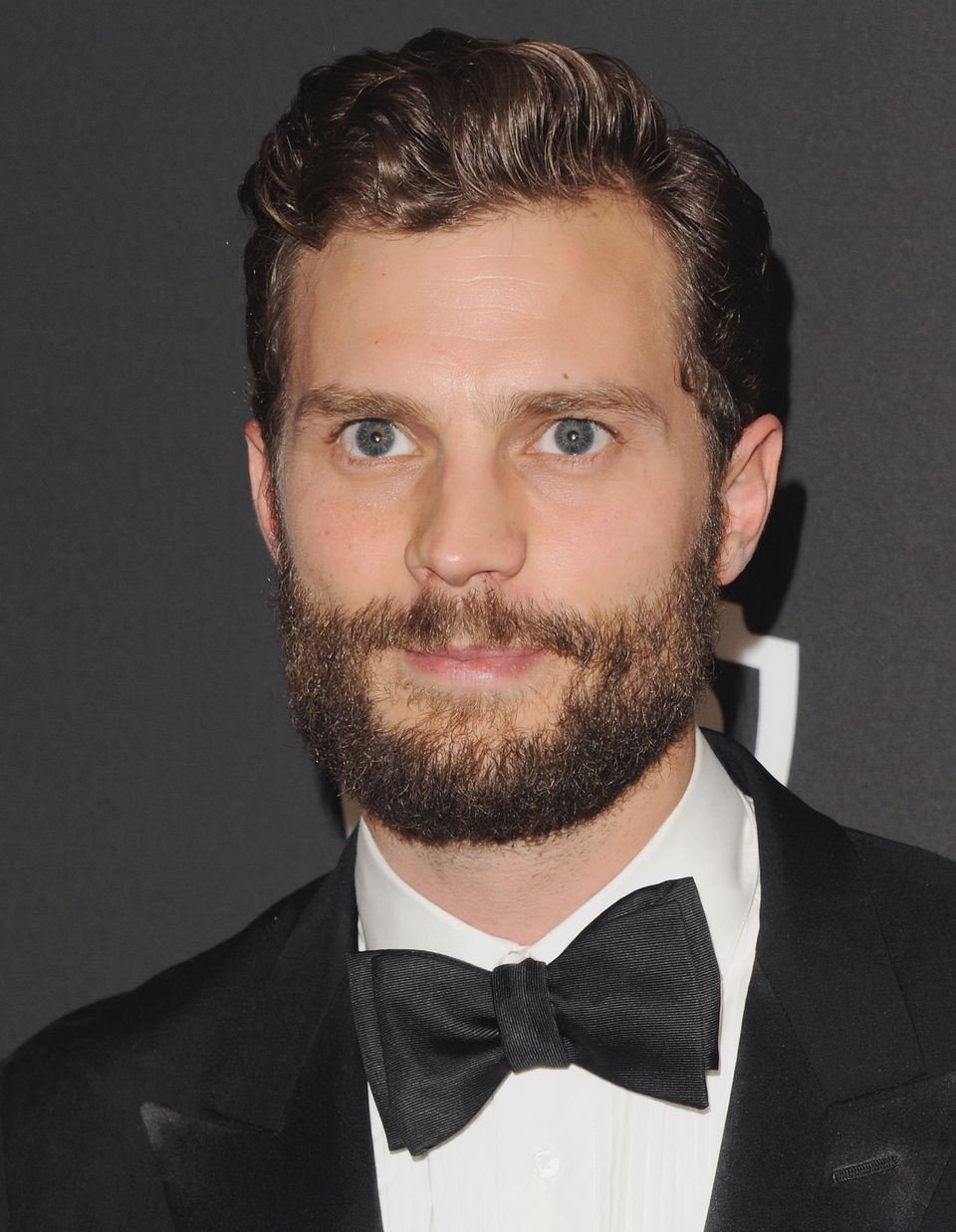 Let's start with the obvious, shall we?  Leading man Jamie Dornan is probably best known for his role in 'The Fall', but you
