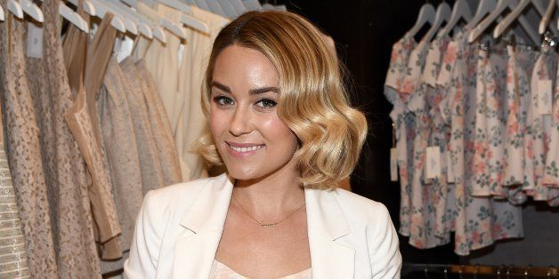 LOS ANGELES, CA - FEBRUARY 12:  Designer Lauren Conrad attends the Paper Crown + Rifle Paper Co. Pop-Up Shop With Lauren Conr