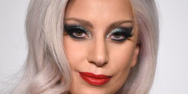 LOS ANGELES, CA - FEBRUARY 08:  Lady Gaga poses at the The 57th Annual GRAMMY Awards on February 8, 2015 in Los Angeles, Cali