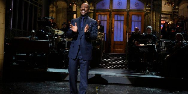 SATURDAY NIGHT LIVE 40TH ANNIVERSARY SPECIAL -- Pictured: Eddie Murphy on February 15, 2015 -- (Photo by: Dana Edelson/NBC/NB