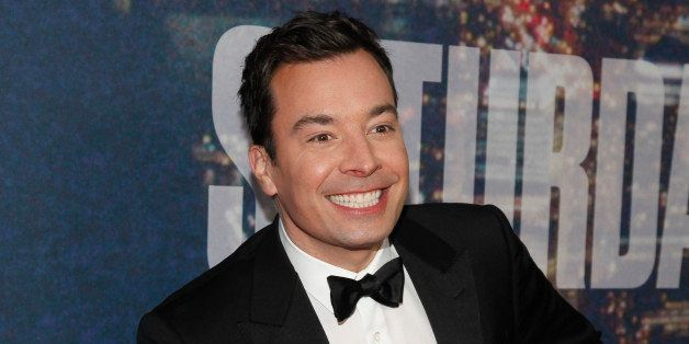 Jimmy Fallon attends the SNL 40th Anniversary Special at Rockefeller Plaza on Sunday, Feb. 15, 2015, in New York. (Photo by A
