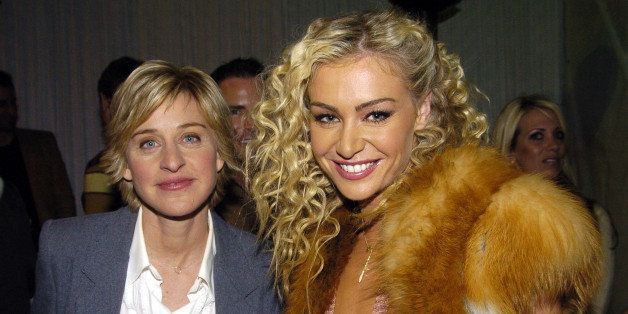 (EXCLUSIVE, Premium Rates Apply) Ellen DeGeneres and Portia de Rossi (Photo by Jeff Kravitz/FilmMagic)