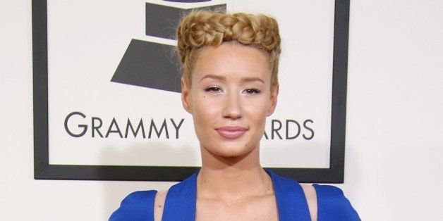 LOS ANGELES, CA - FEBRUARY 08: Iggy Azalea attends The 57th Annual GRAMMY Awards at the STAPLES Center on February 8, 2015 in