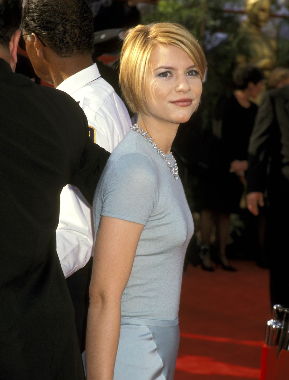 Claire Danes at the 69th annual Academy Awards in 1997.