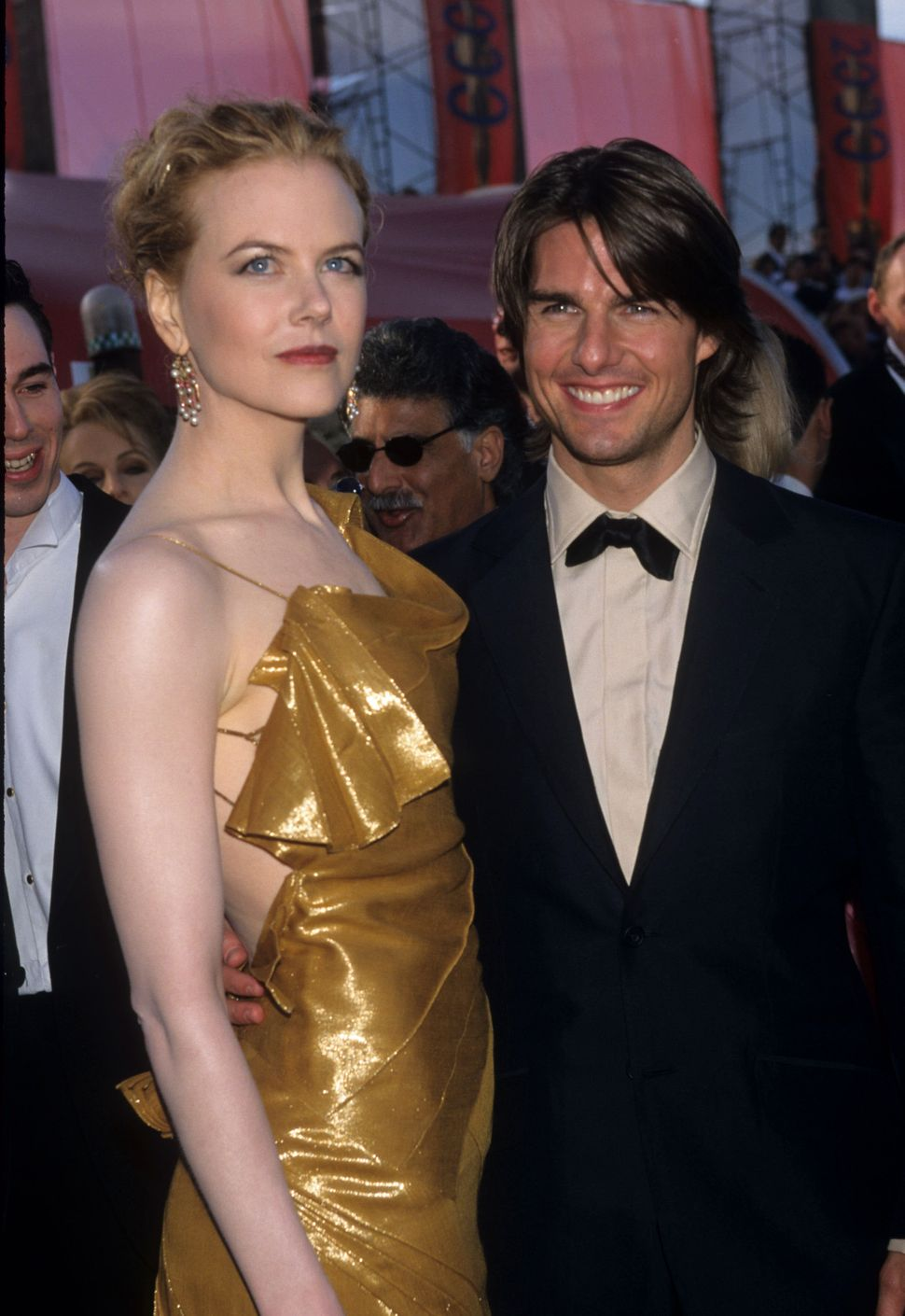 Nicole Kidman and Tom Cruise at the 72nd annual Academy Awards in 2000.
