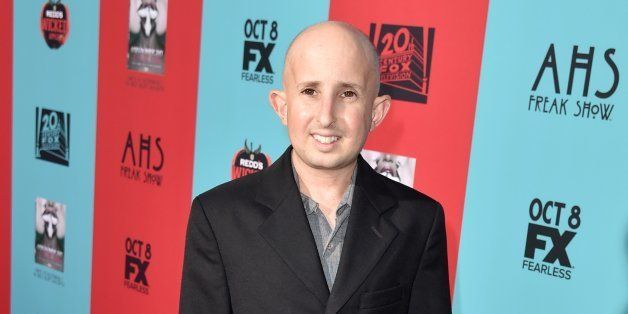HOLLYWOOD, CA - OCTOBER 05:  Actor Ben Woolf attends the premiere screening of FX's 'American Horror Story: Freak Show' at TC