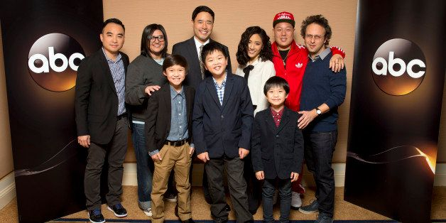 TCA WINTER PRESS TOUR 2015 - 'Fresh Off the Boat' - The cast and executive producers of 'Fresh Off the Boat'  at Disney | ABC