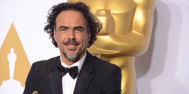 HOLLYWOOD, CA - FEBRUARY 22:  Producer/director Alejandro G. Inarritu, winner of Best Original Screenplay, Best Director, and