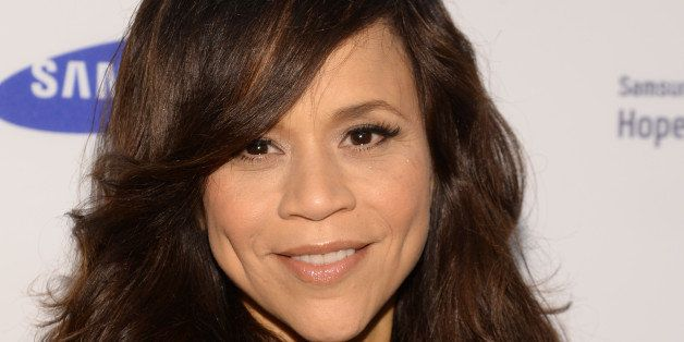 Rosie Perez attends the 13th Annual Samsung Hope For Children Gala at Cipriani Wall Street on Tuesday, June 10, 2014 in New Y
