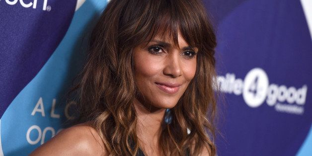 Halle Berry arrives at unite4:good and Variety's 2nd annual unite4:humanity at the Beverly Hilton Hotel on Thursday, Feb.19,