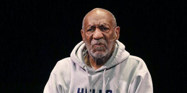 Comedian Bill Cosby performs at the Buell Theater in Denver, Saturday, Jan. 17, 2015. Cosby, 77, is facing sexual assault acc