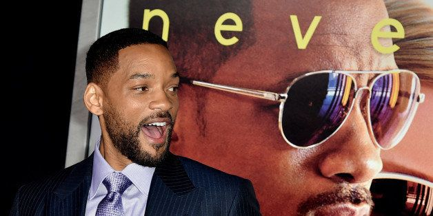 LOS ANGELES, CA - FEBRUARY 24:  Actor Will Smith arrives at the premiere of Warner Bros. Pictures' 'Focus' at the Chinese The