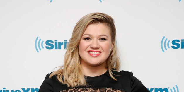 NEW YORK, NY - MARCH 03:  Kelly Clarkson visits SiriusXM Studio on March 3, 2015 in New York City.  (Photo by Robin Marchant/