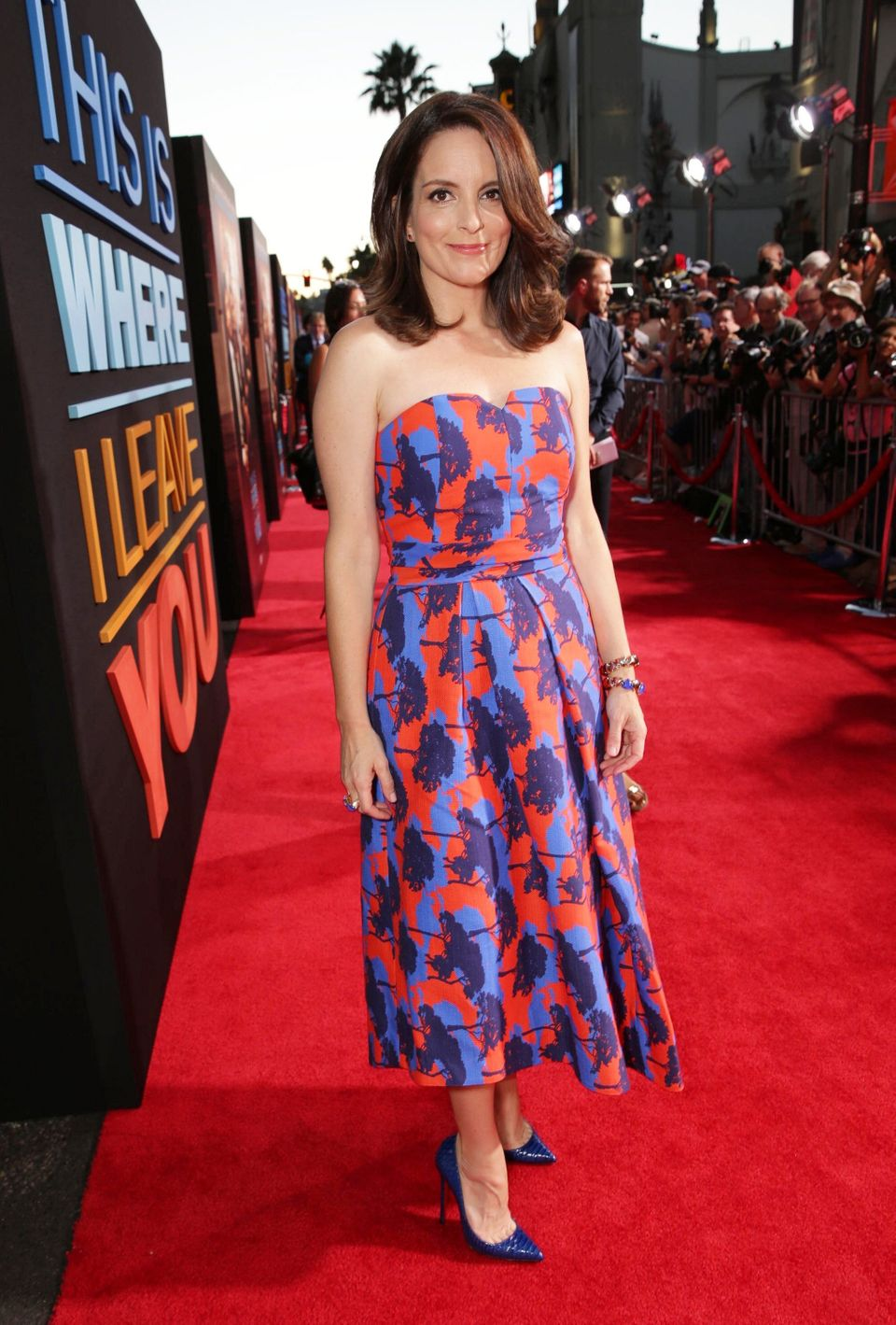 "Tina Fey seen at Warner Bros. ""This is Where I Leave You"" Los Angeles Premiere on Monday, Sep 15, 2014, in Los Angeles. (Phot"