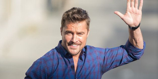 LOS ANGELES, CA - FEBRUARY 16: Chris Soules is seen at 'Jimmy Kimmel Live' on February 16, 2015 in Los Angeles, California.