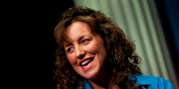 WASHINGTON, DC - FEBRUARY 10: Michelle Duggar speaks during a panel discussion before promoting the book 'A Love That Multipl