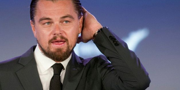 Actor Leonardo DiCaprio speaks at the second day of the State Department's 'Our Ocean' conference at the State Department in