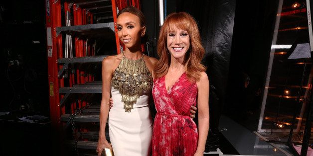 BEVERLY HILLS, CA - JUNE 22:  TV personality Giuliana Rancic (L) and comedian Kathy Griffin attends The 41st Annual Daytime E