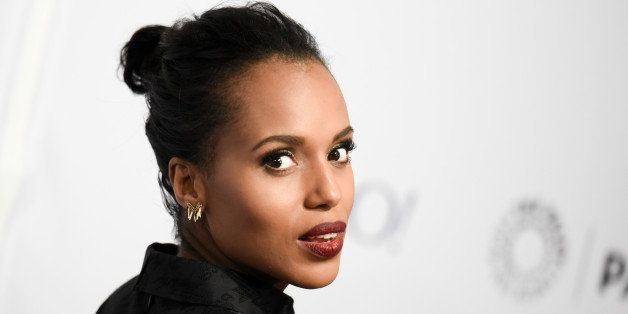 """Kerry Washington arrives at the 32nd Annual Paleyfest : """"Scandal"""" held at The Dolby Theatre on Sunday, March 8, 2015, in Los"""