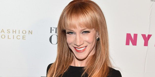 NEW YORK, NY - FEBRUARY 11:  Kathy Griffin, Host of E!'s 'Fashion Police' attends E! 'Fashion Police' and NYLON kickoff of NY