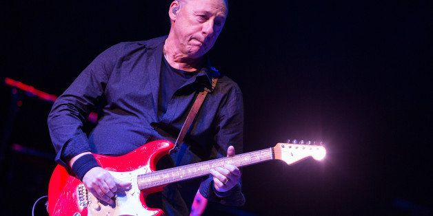 Mark Knopfler performs in concert at The Wiltern on Saturday, Oct. 26, 2013 in Los Angeles. (Photo by Paul A. Hebert/Invision